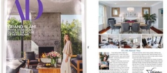 Our Work is Featured in the July/August Issue of Architectural Digest!